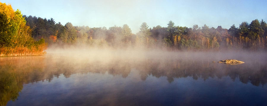 Westford Photograph - Kennedy Pond by Frank Winters