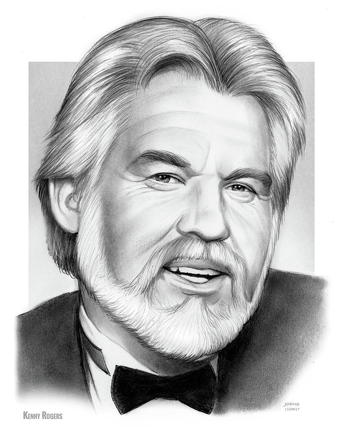 Kenny Rogers Drawing