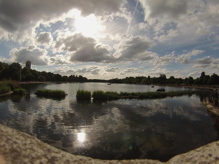 Kensington Gardens Photograph - Kensington Clouds by Eric Reith
