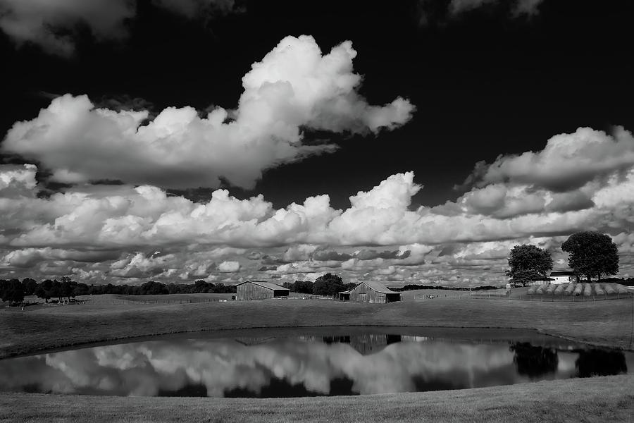 Kentucky Photograph - Kentucky Clouds by Keith Bridgman