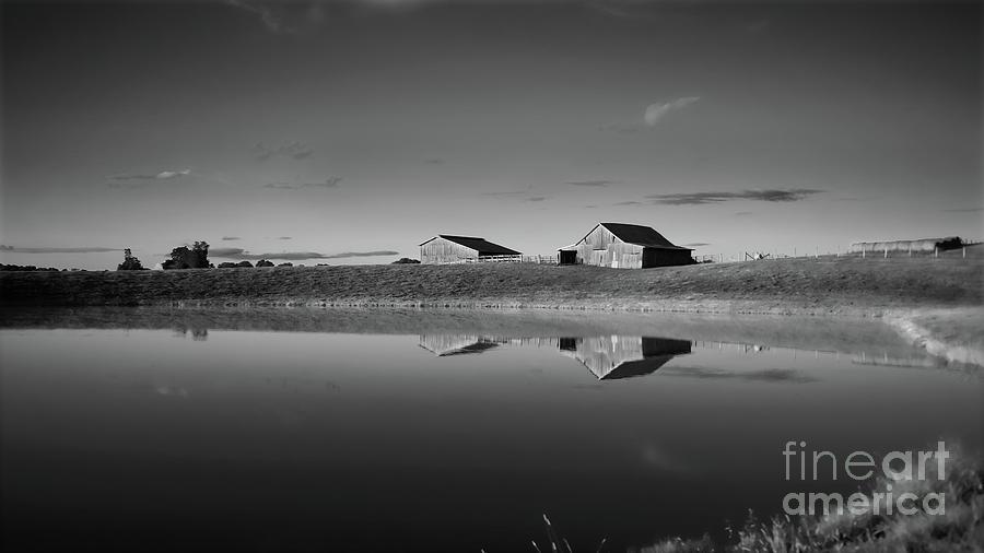 Kentucky Photograph - Kentucky Farm Pond by Keith Bridgman