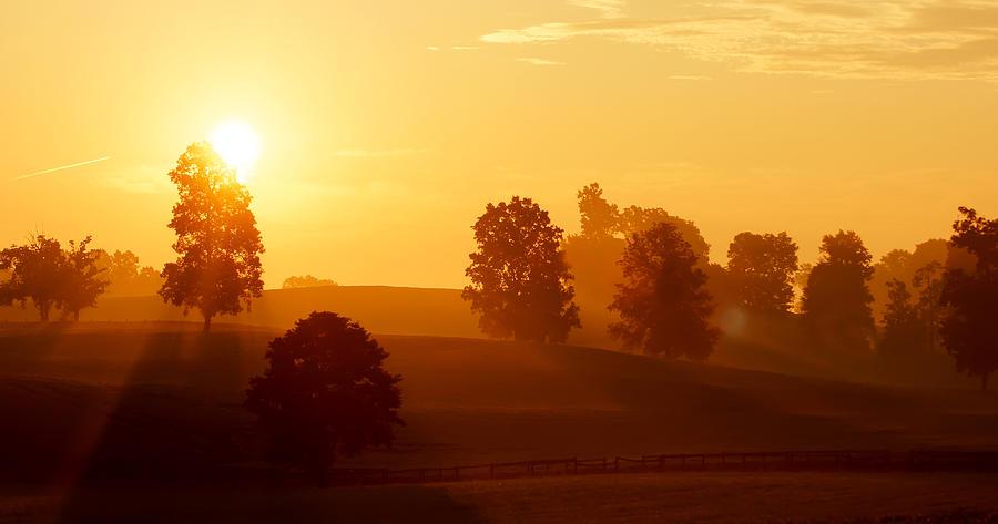 Kentucky Photograph - Kentucky Morning by Keith Bridgman