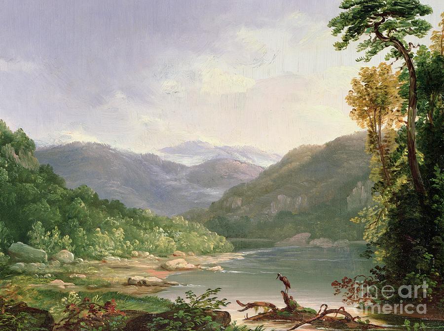 Kentucky River Painting By Thomas Worthington Whittredge