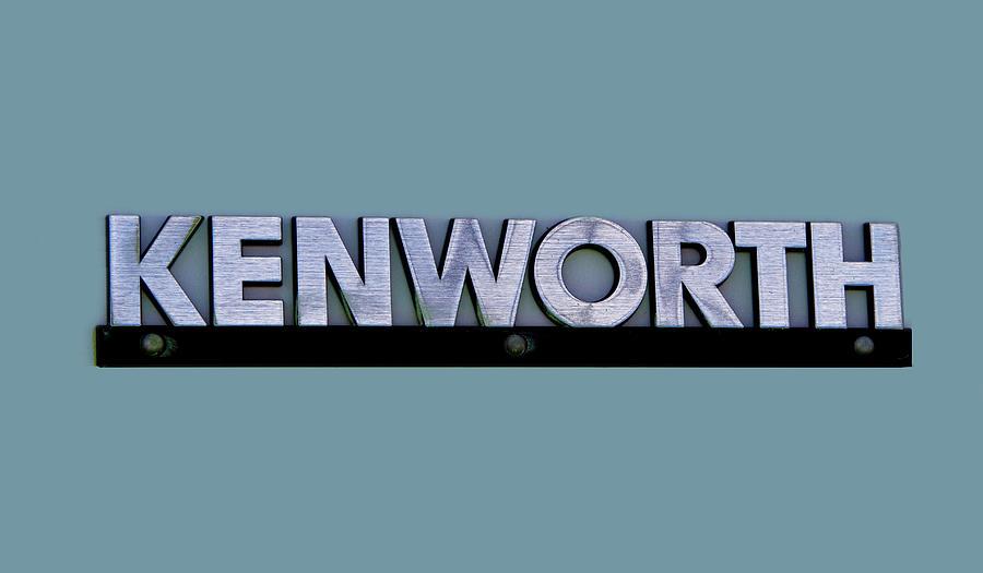 Kenworth Semi Truck Logo Photograph By Nick Gray