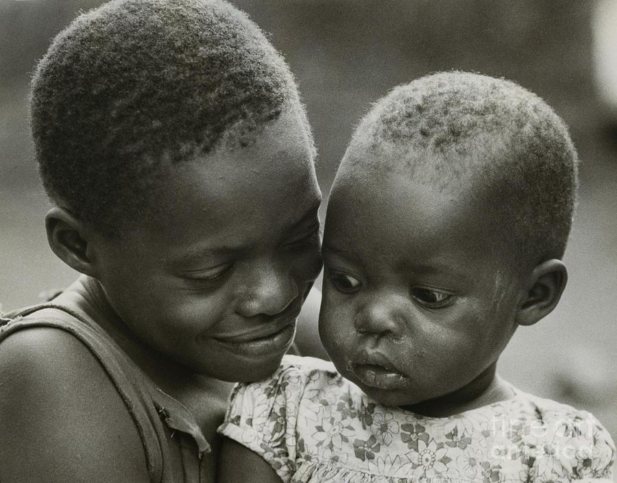 Erik Photograph - Kenya Sisters  by Erik Falkensteen