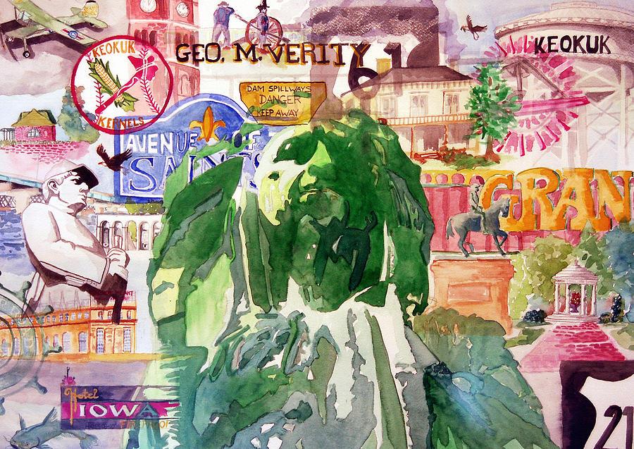 Keokuk Painting - Keokuk Legacy by Jame Hayes