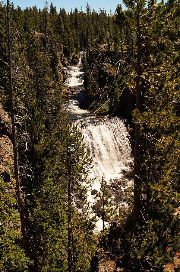 National Park Photograph - Kepler Cascades by Beth Collins