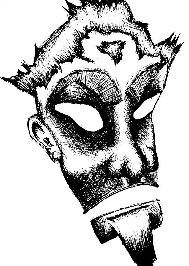 Kerberos Drawing - Kerberos by Jera Sky