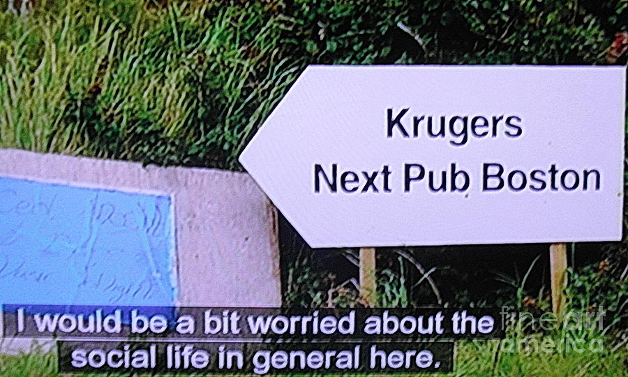 Kerry... KRUGERS  the last stop before Boston by Val Byrne