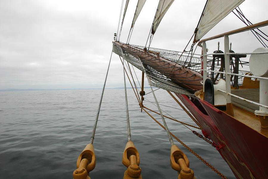 Sailing Photograph - Kersones by Hans Jankowski