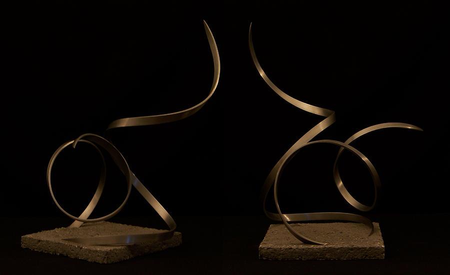 Steel Sculpture - Kestrel 2 by Evan Leutzinger