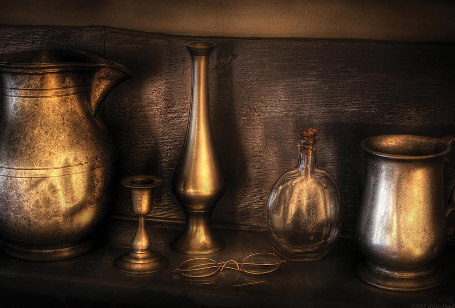 Savad Photograph - Kettle - Ready For A Drink by Mike Savad