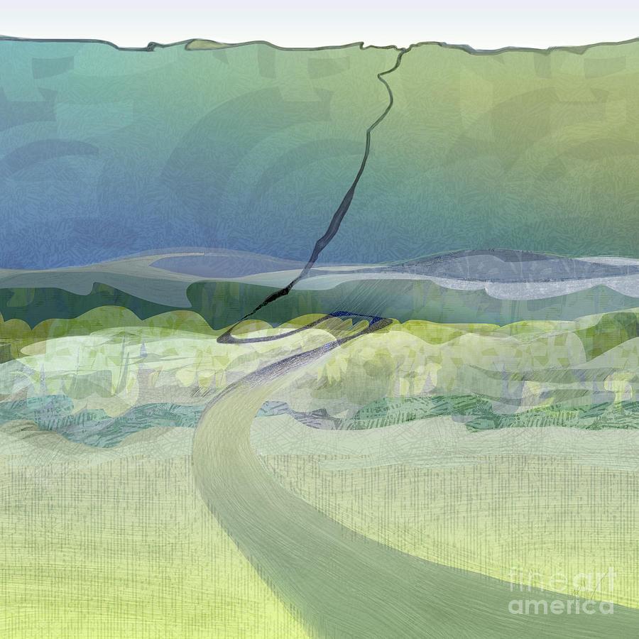 Keuka Incline  by CR Leyland