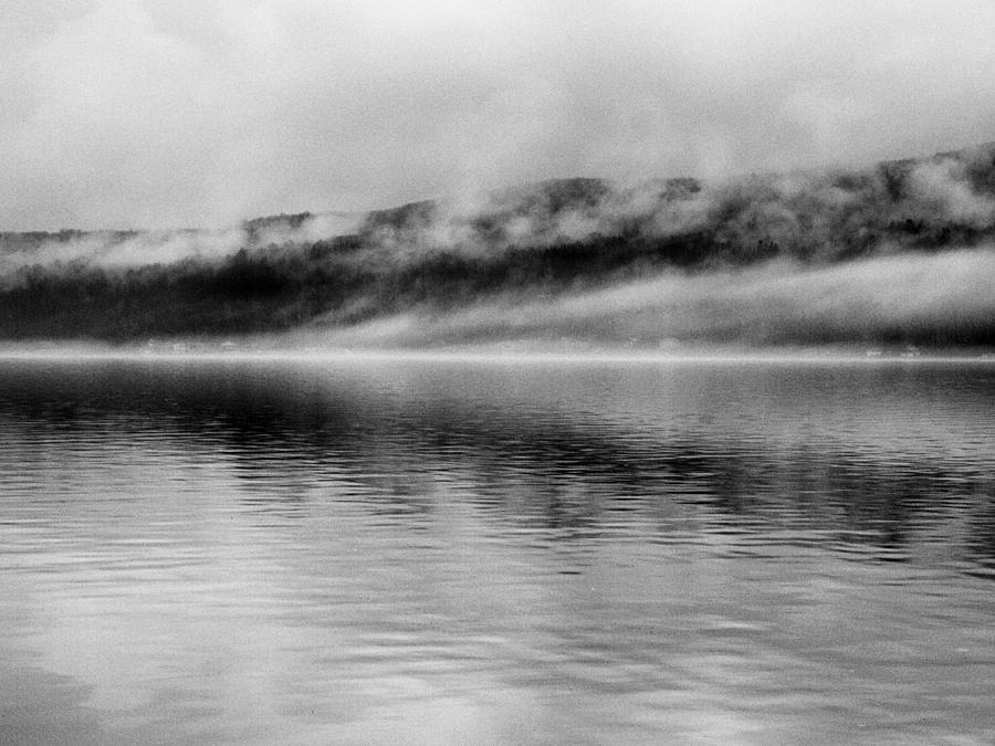 Keuka Lake Photograph - Keuka Mists by Joshua House