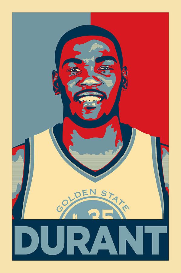 Kevin Durant Digital Art - Kevin Durant by Zapista OU