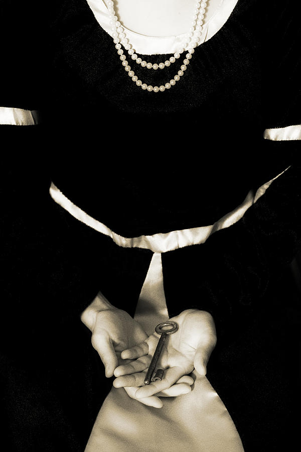 Female Photograph - key by Joana Kruse