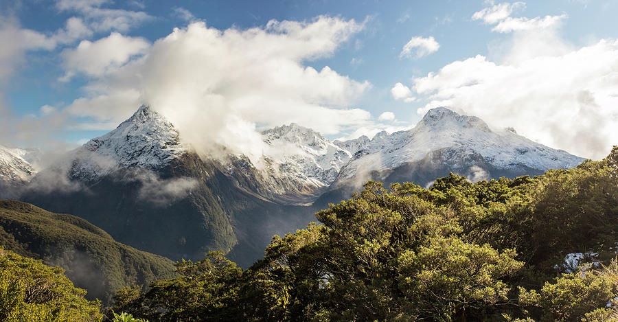 New Zealand Photograph - Key Summitt by Jeff Pfaller