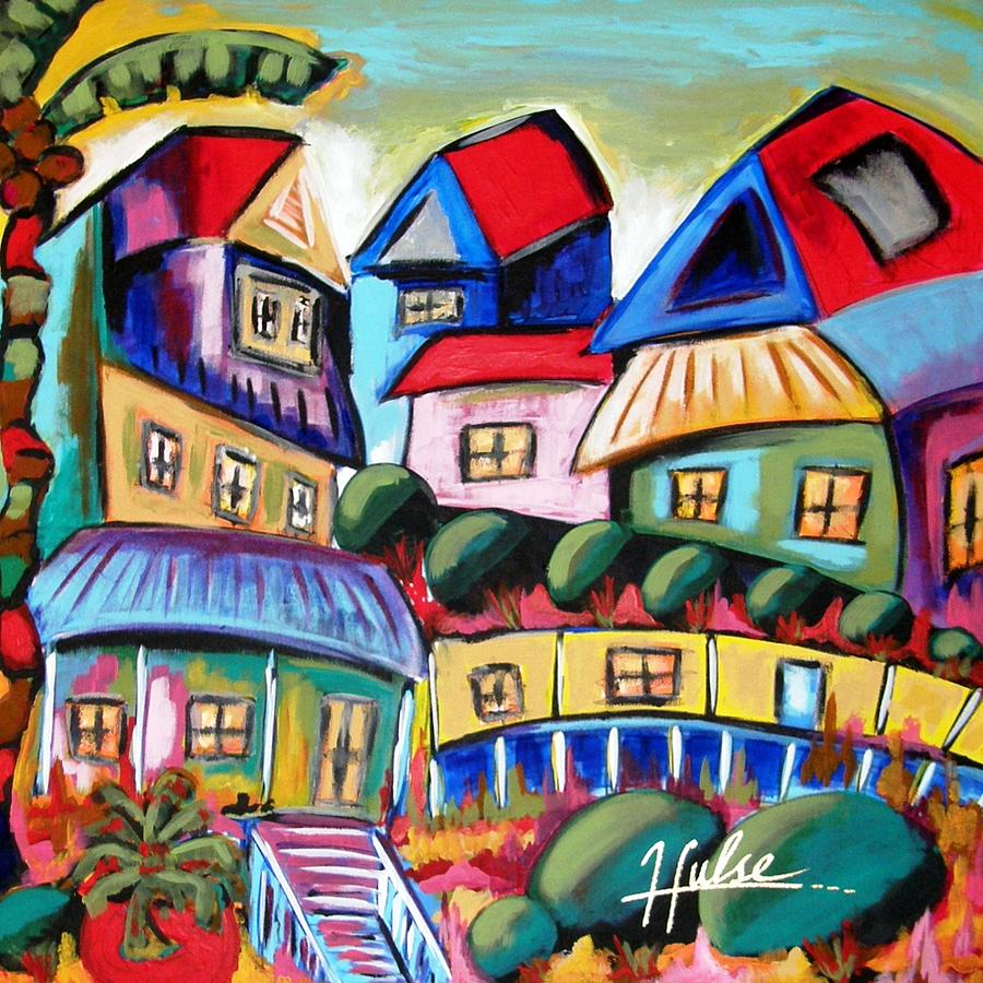 Landscape Painting - Key West by Gina Hulse