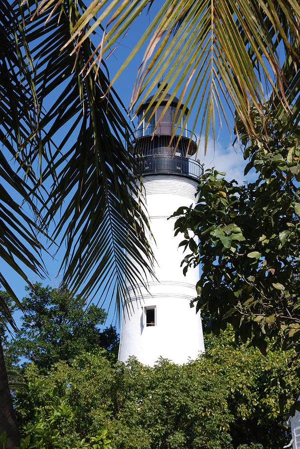Lighthouse Photograph - Key West Lighthouse by Susanne Van Hulst