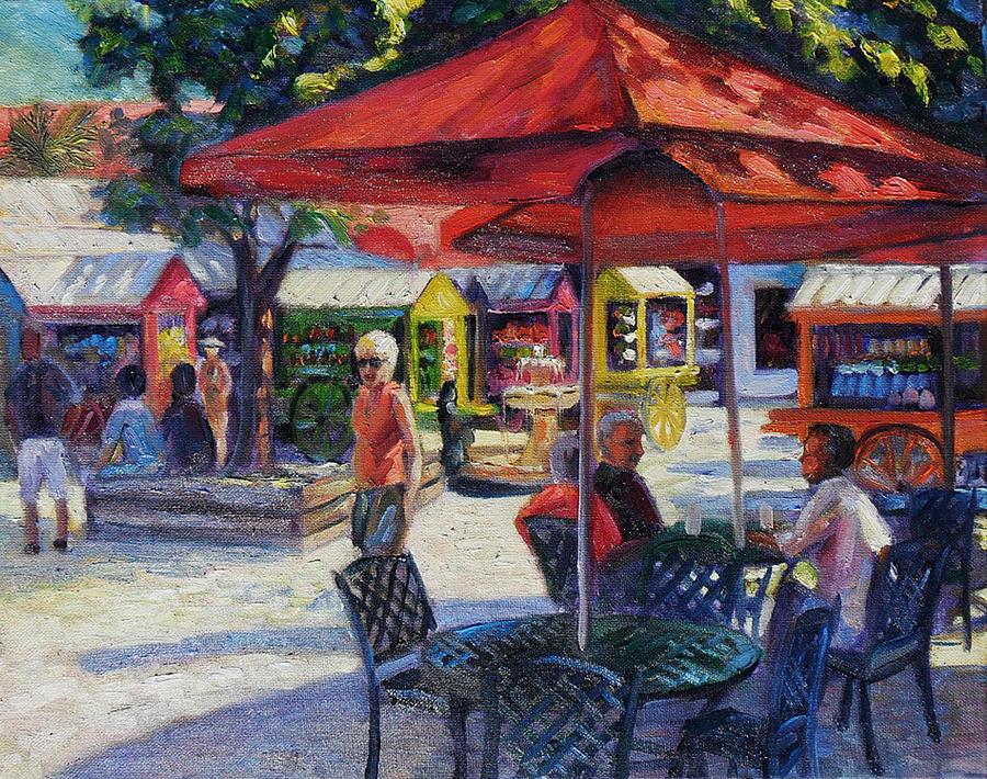 Key West Shoppes  by Gretchen Ten Eyck Hunt