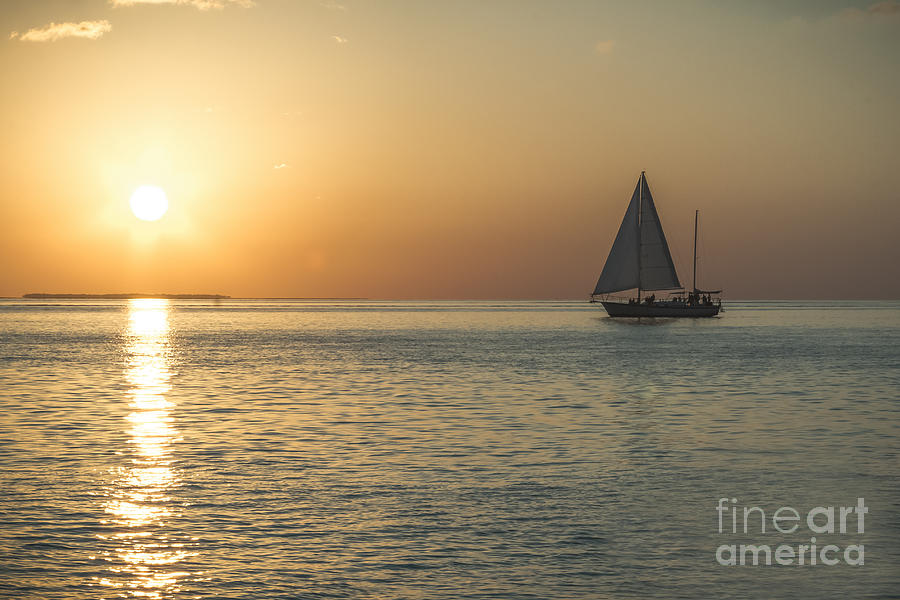 Key West Photograph - Key West Sunset by C W Hooper