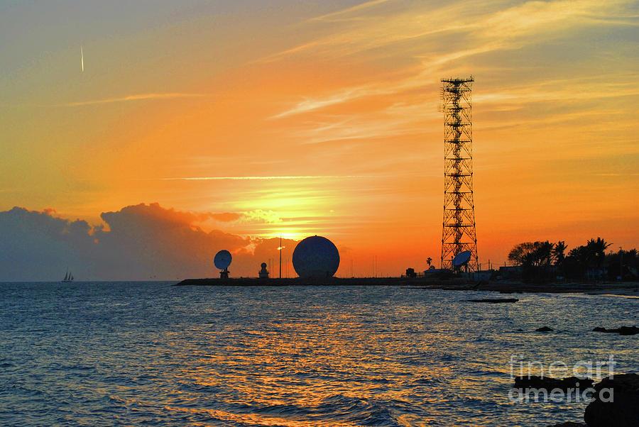 Sunset Photograph - Key West Sunset by Jost Houk