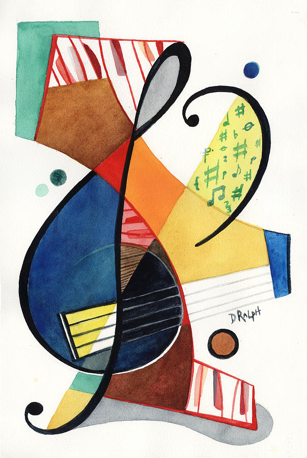 Keys and Clef by David Ralph