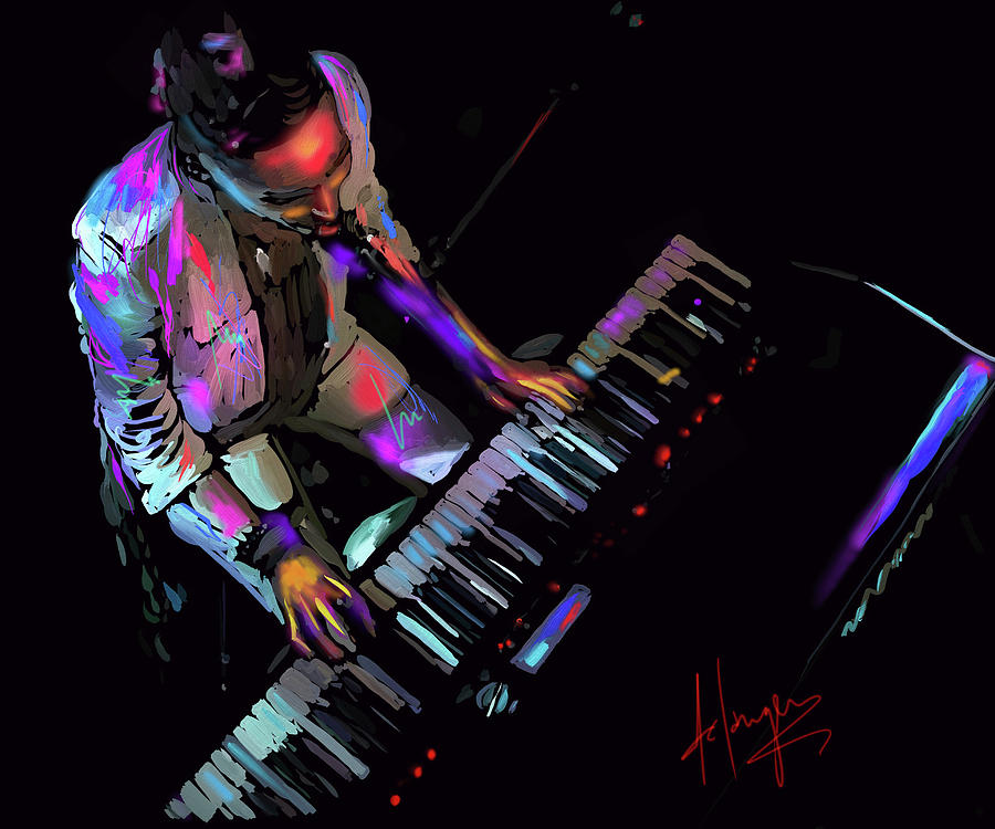 Keys From Above Painting