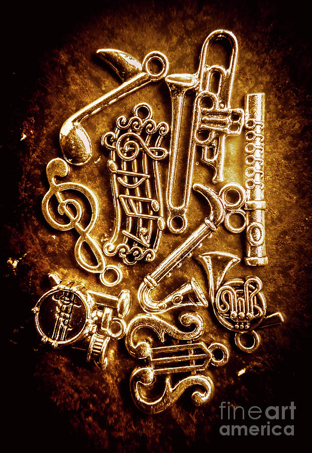 Orchestra Photograph - Keys Of A Symphonic Orchestra by Jorgo Photography - Wall Art Gallery