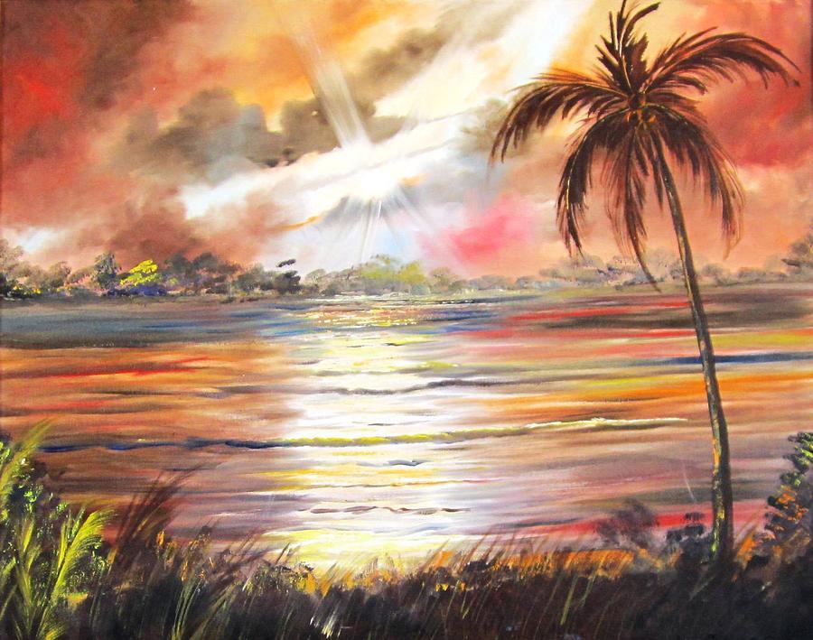 Keys Sunrise, Sunset by Linda Cabrera
