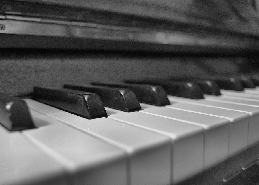 Keys Photograph - Keys To The Piano by JAMART Photography