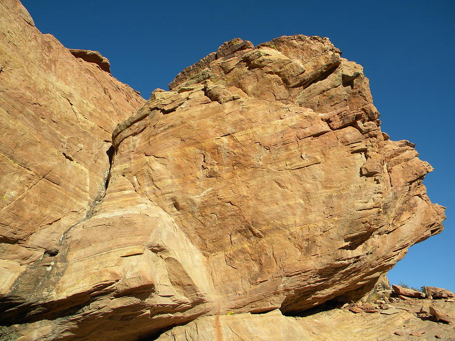 Red Rock Photograph - Keystone Thrust by Carri Kontrovich