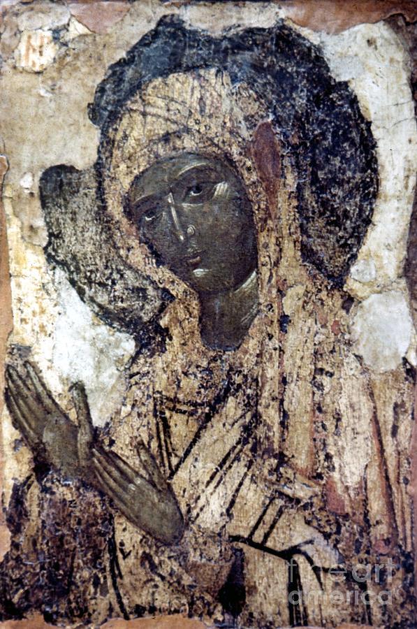 Assumption Photograph - Khalkopratiyskaya Virgin by Granger