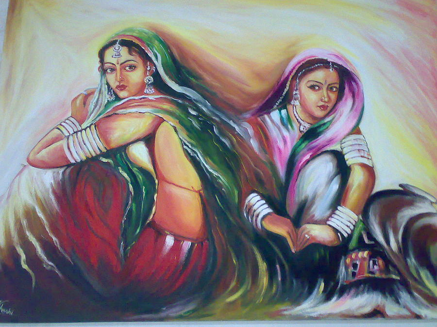Khushboo Painting by Khushboo Aggarwal