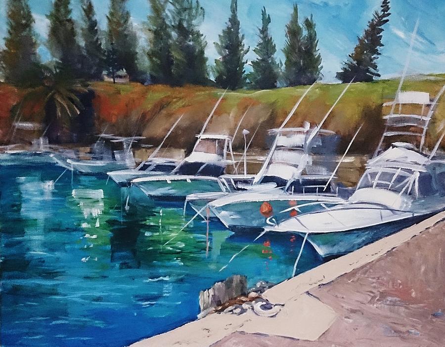 Kiama Painting - Kiama Harbour by Kathy  Karas