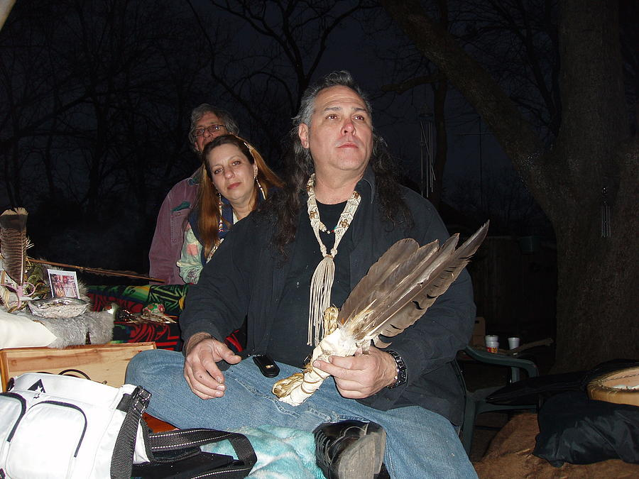 Native American Paintings Photograph - Kicking Bear Productions Team by Kicking Bear  Productions