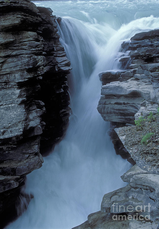 Waterfall Photograph - Kicking Horse River by Sandra Bronstein