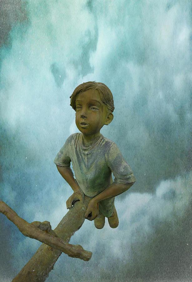 Texture Photograph - Kid 7 by Dale Stillman