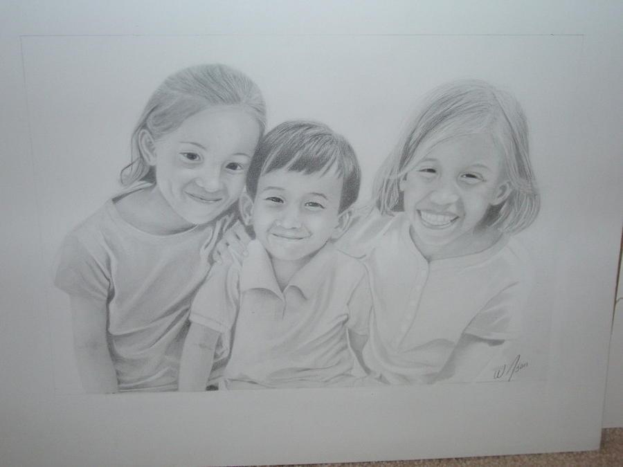 Kids Drawing by Wilson  Lopez