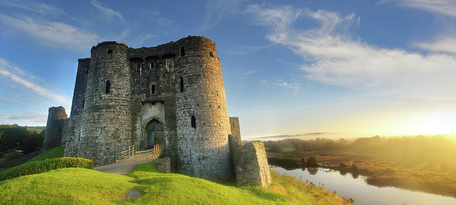 Kidwelly Photograph - Kidwelly Castle 3 by Phil Fitzsimmons