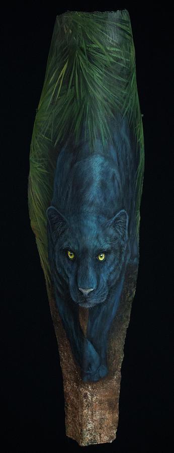 Kiera  Black Jaguar by Nancy Lauby