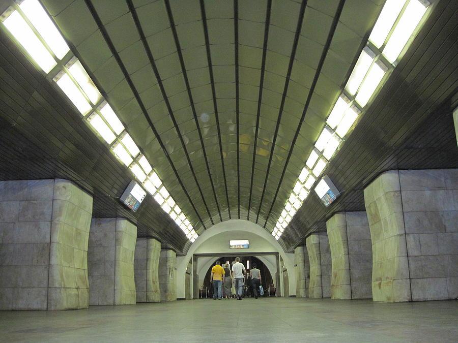 Kiev Photograph - Kiev Subway Station Photo 4 by Kostyantyn Serodkin