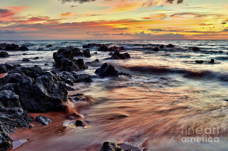 Kihei Sunset Photograph