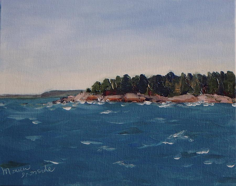 Water Painting - Kilarney by Monica Ironside