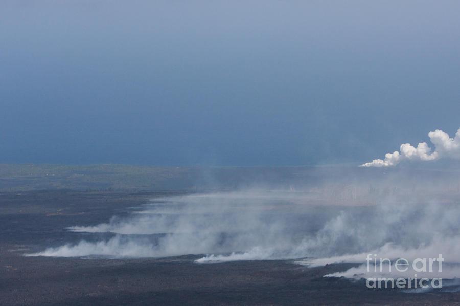 Kilauea Lava Field by J Bloomrosen