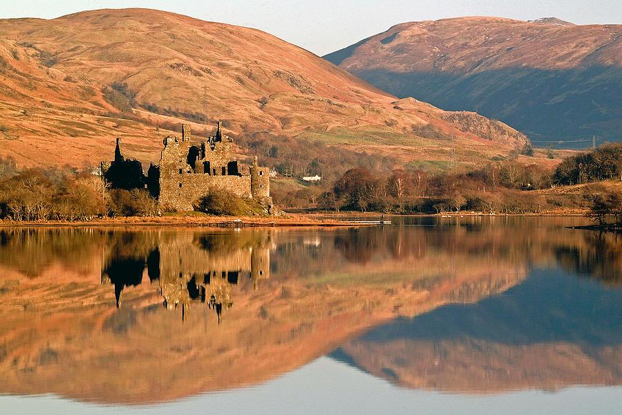 Kilchurn Castle in Autumn by John McKinlay