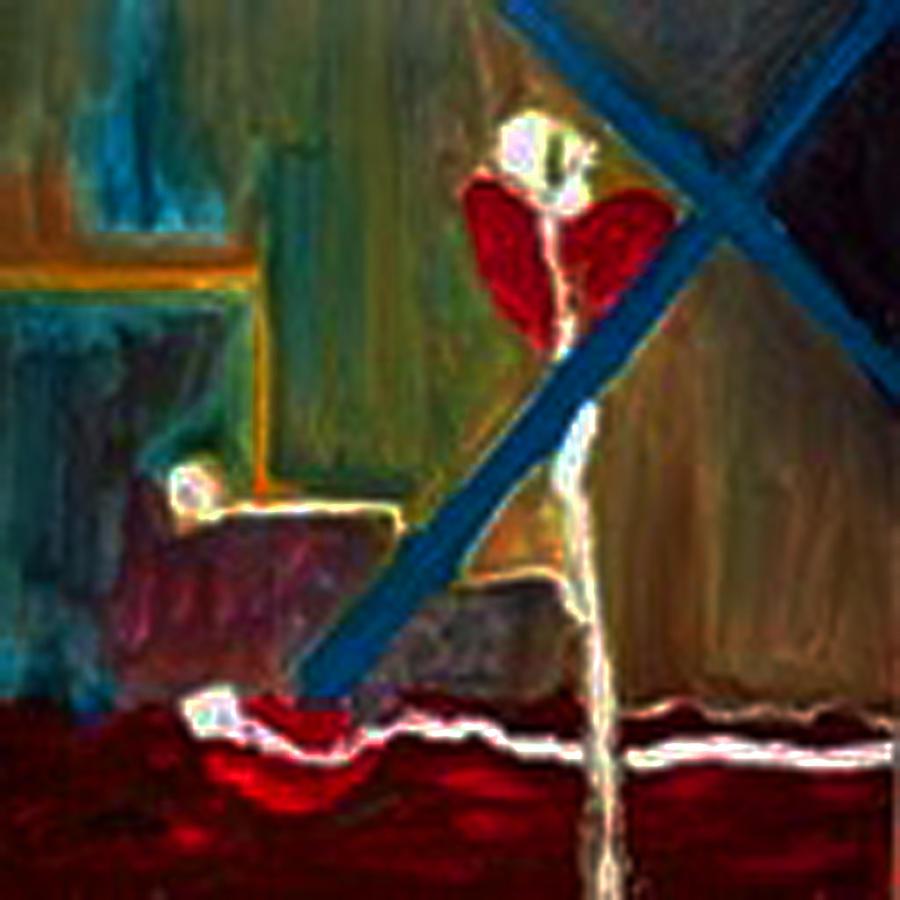 Kill Heal Painting by Lyn Deutsch