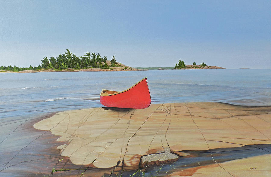 Killarney Canoe by Kenneth M Kirsch