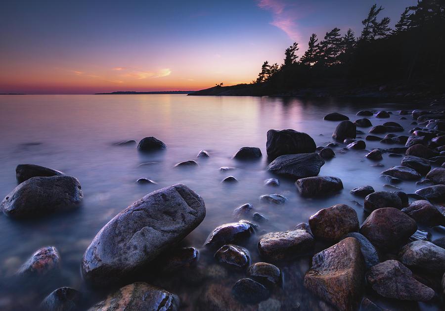 Killbear Sunset Photograph