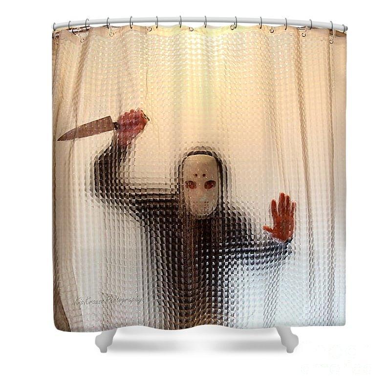 Killer Shower Curtain Kip Krause By